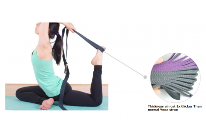 Belle Ame D Ring Buckle  Premium Yoga Strap