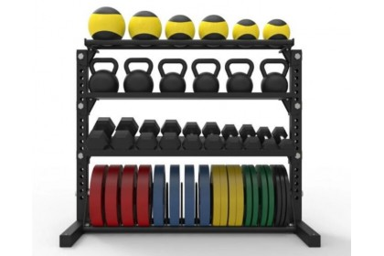 Black King Bar Multipurpose Storage Rack