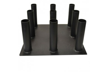 Crossfit 9 Hole Barbell Bar Stand