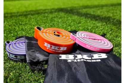 BKB Fitness Dual Color Premium Resistance Band