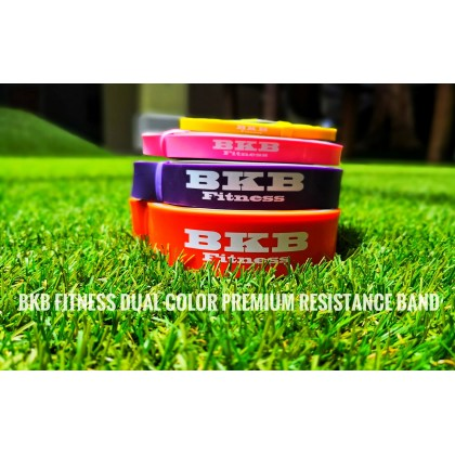 BKB Fitness Dual Color Premium Resistance Band