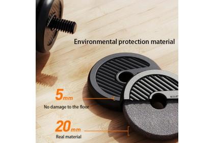 30KG 6-in-1 Dumbbell Kettlebell Barbell Adjustable Weight Set
